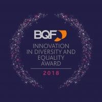 Innovation in Diversity and Equality Award - coloured