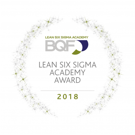 Lean Six Sigma Award