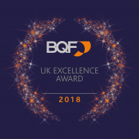 UK Excellence Award - coloured
