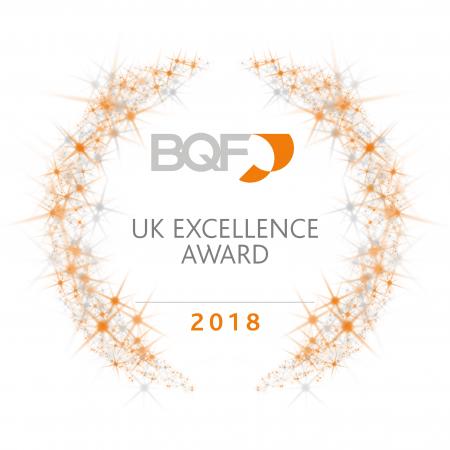 UK Excellence Award - white