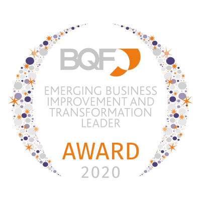 040 BQF UK Excellence Awards 2020 - Emerging Business Improvement and Transformation Leader