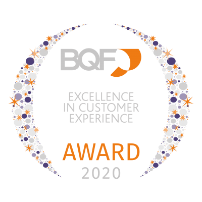 040 BQF UK Excellence Awards 2020 - Excellence in Customer Experience Award