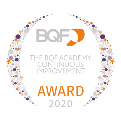 040 BQF UK Excellence Awards 2020 - The BQF Academy Continuous Improvement Award.