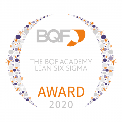 040 BQF UK Excellence Awards 2020 - The BQF Academy Lean Six Sigma Academy Award